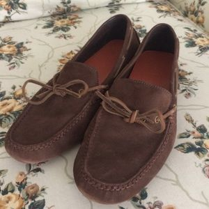 Cole Haan Leather Driving Moccasins size 9 VGUC